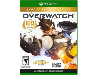 50% off Overwatch Game of the Year Edition - Xbox One