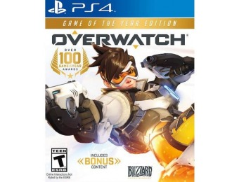 50% off Overwatch Game of the Year Edition - PlayStation 4