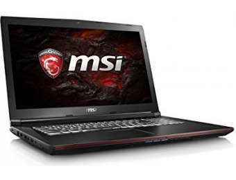 "$400 off MSI GP72VR Leopard Pro-281 17.3"" 120Hz Gaming Laptop"
