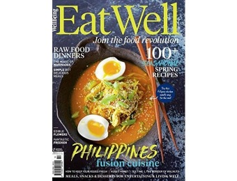 67% off Eat Well Magazine Annual Subscription