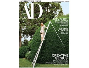 89% off Architectural Digest Magazine Subscription