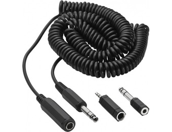 47% off Insignia 20' Headphone Extension Cable and Adapter Kit