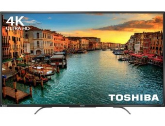 "$150 off Toshiba 55"" LED 2160p Chromecast 4K Ultra HD TV"