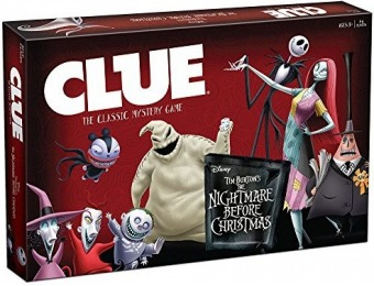 39% off Clue: Tim Burtons Nightmare Before Christmas Game