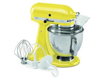 $215 off KitchenAid Artisan 5-qt. Stand Mixer, Sunshine Yellow