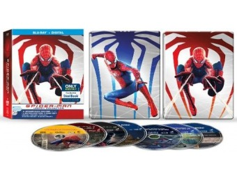 50% off Spider-Man Legacy Collection (SteelBook) Blu-ray