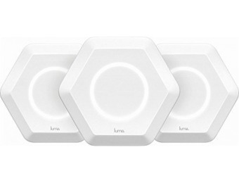 $209 off Luma Wireless-AC Dual-Band Wi-Fi Router, (3 Pack) Refurb
