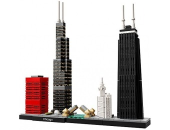 20% off LEGO Architecture Chicago 21033 Skyline Building Blocks Set