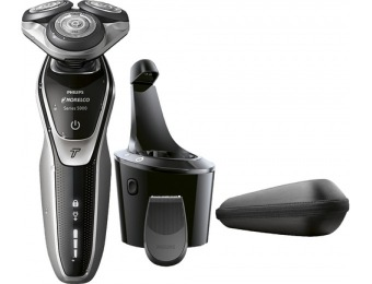 $60 off Philips Norelco 5700 Clean & Charge Wet/Dry Electric Shaver
