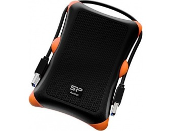 $15 off Silicon Power 2TB Rugged Armor A30 Military Grade USB Drive