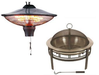 Save up to 40% off Select Outdoor Heating at Home Depot