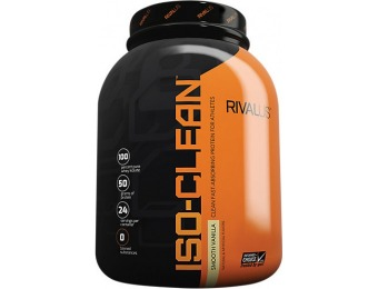 74% off Iso Clean Protein Powder