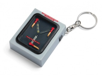 58% off Back to the Future Flux Capacitor Light Up Keychain