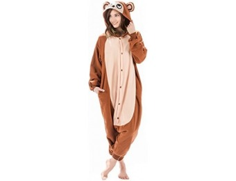 29% off Kigurumi Monkey Costume: Adult Onesie Pajamas