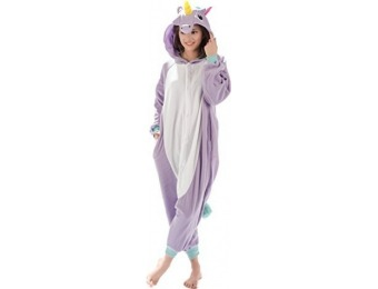 36% off Kigurumi Unicorn Costume: Adult Onesie Pajamas