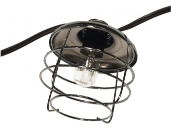 "80% off Bel Air Lighting 126"" Polished Chrome String Lights"