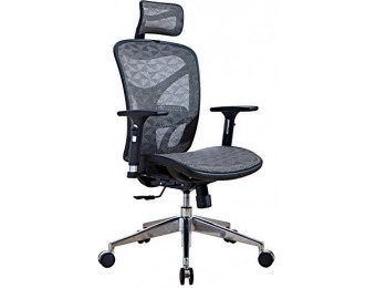 60% off LSCING Ergonomic Recliner Mesh Office Chair