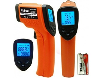95% off Nubee Temperature Gun Non-contact Infrared Thermometer