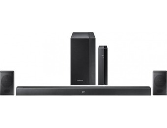 $190 off Samsung 2.1-Ch Soundbar System with Rear Wireless Speakers
