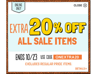 Extra 20% off All Sale Items at Old Navy