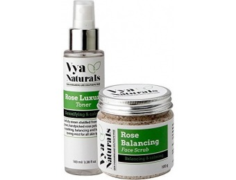 51% off Vya Naturals Radiant Skin Duo Bundle