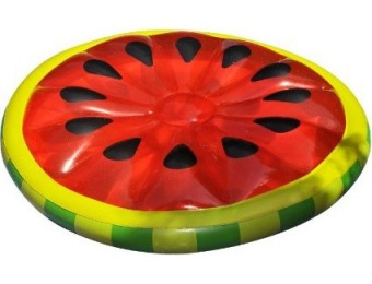 86% off Swimline Watermelon Slice Island Inflatable Raft