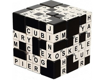74% off V-Cube Crossword 3 Cube Toy