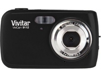 76% off Vivitar ViviCam 9112 9.1MP Digital Camera