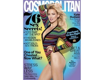 90% off Cosmopolitan Magazine Subscription, $5/ 12 Issues