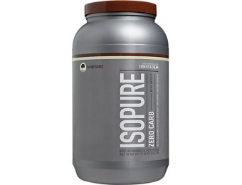 54% off Isopure Zero Carb Protein Supplement