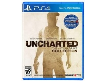 67% off Uncharted Collection - PS4