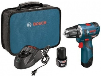 "$62 off Bosch PS32-02 12V Max Brushless 3/8"" Drill/Driver Kit"