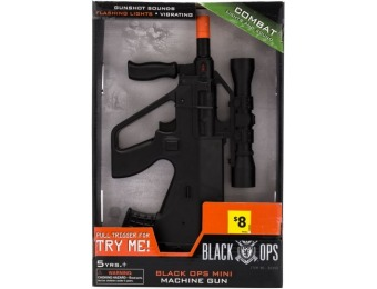 90% off Black Ops Mini Machine Gun Toy