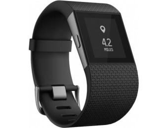 $150 off Fitbit Surge GPS Super Watch with Heart-Rate Monitor