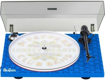 $200 off Pro-Ject Essential Stereo Turntable (Beatles Sgt. Pepper)