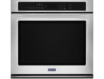 49% off Maytag Self-cleaning Convection Single Electric Wall Oven