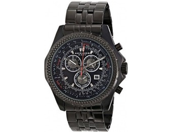 "$605 off Akribos XXIV AK517BLK ""Ultimate"" Men's Watch"