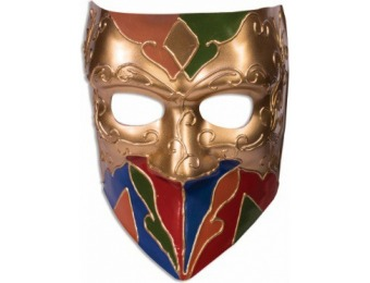 85% off Adult Classic Jester Mask