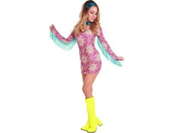 82% off Summer of Love Hippie Women's Costume