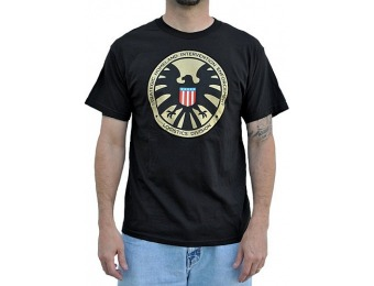 88% off Agents of Shield T Shirt - Marvel