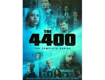 53% off The 4400: The Complete Series 15 Discs DVD