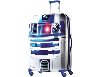 "69% off American Tourister Star Wars R2D2 28"" Spinner Suitcase"