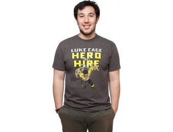 75% off Luke Cage Hero For Hire T-Shirt