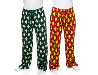 52% off Harry Potter House Argyle Unisex Lounge Pants