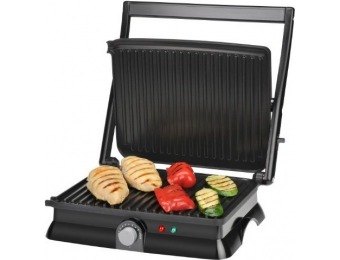 53% off Kalorik 1400-Watt Non-Stick Contact Grill & Panini Maker