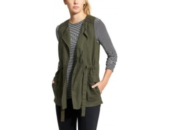 70% off Athleta Womens Wanderbout Vest, Forest Green