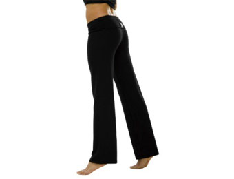 $30 off In Touch Women's Yoga Roll-Down Pants