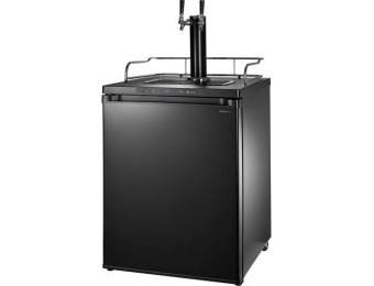 $200 off Insignia 5.6 Cu. Ft. Dual Tap Beverage Cooler & Kegerator