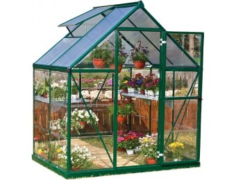 80% off 6' x 4' x 7' Nature Greenhouse