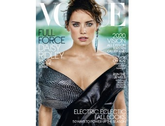 83% off Vogue Magazine, $5.99 / 12 Issues